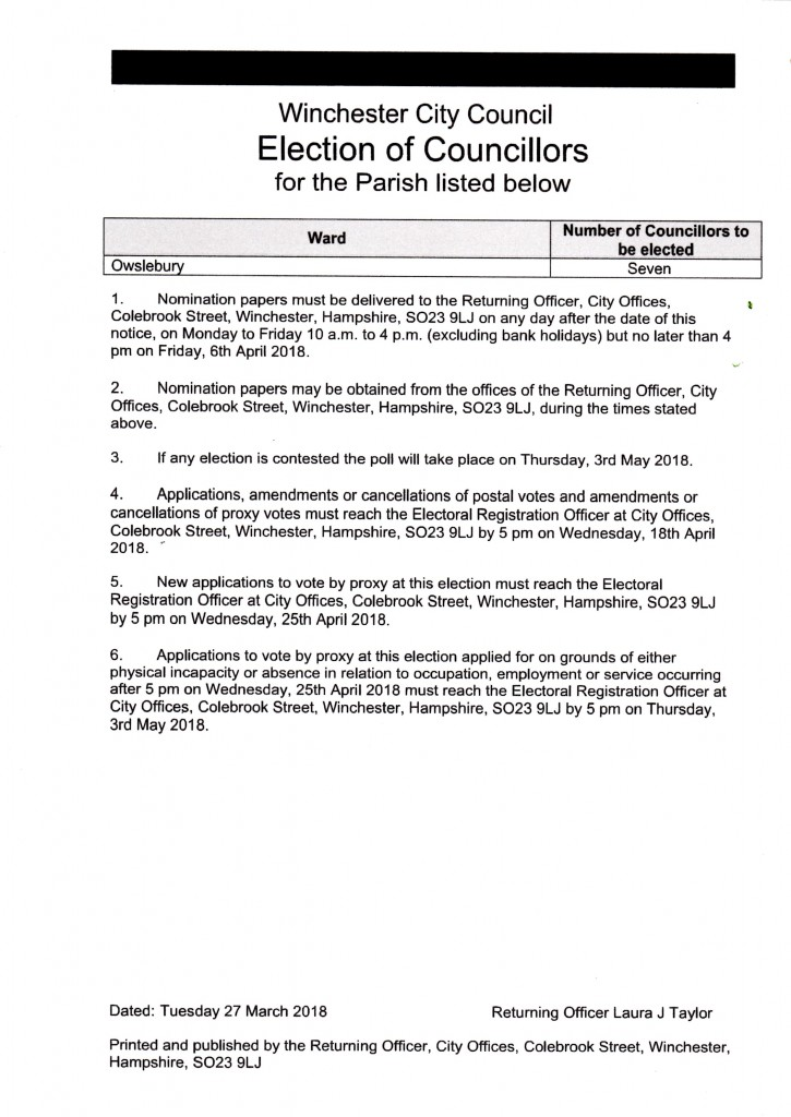 parish election